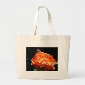 ROSES Orange Rose Flowers 2 Cards Gifts Mugs Canvas Bag