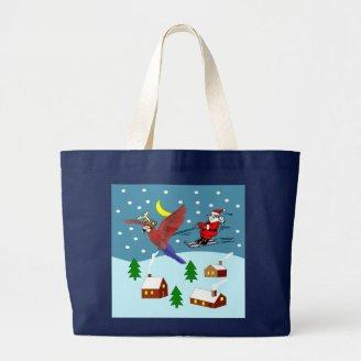 Rudolph the Parrot Bag