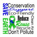 Save Earth Environment Awareness Collage
