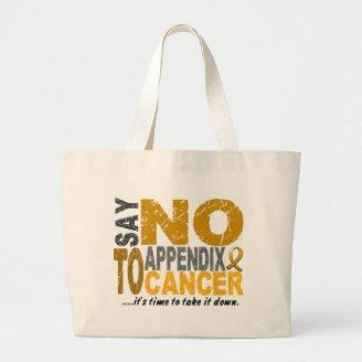 Say NO To Appendix Cancer 1 Bags