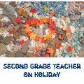 Second Grade Teacher on Holiday tote Bags Leaves