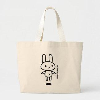 Sewing involving the rabbit/floating tote bags