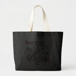 Sewing is canvas bag