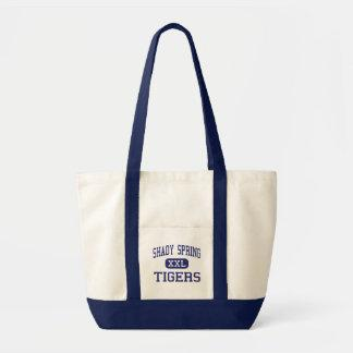 Shady Spring - Tigers - Junior - Shady Spring Canvas Bags