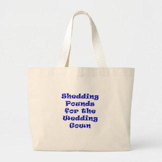 Shedding Pounds for the Wedding Gown Tote Bags