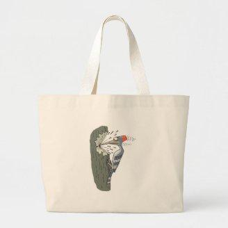 silly woodpecker bags