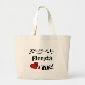 Someone In Florida Loves Me Canvas Bag