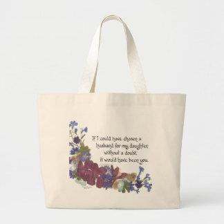 Son-in-Law gift Tote Bags