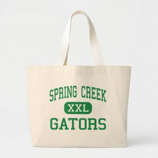 Spring Creek - Gators - Middle - Seven Springs Tote Bag