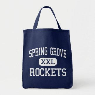 Spring Grove - Rockets - Area - Spring Grove Tote Bags