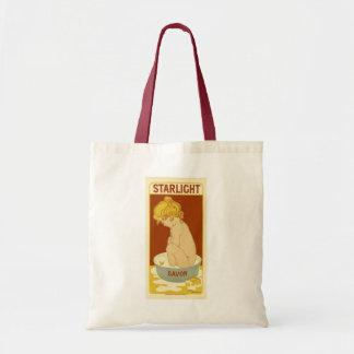 Starlight Vintage Soap Ad Budget Tote Bag