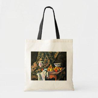 Still Life With Apples And Peaches By Paul Cézanne Bag