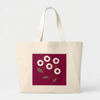 Stylized Flowers, on customizable products. Bag