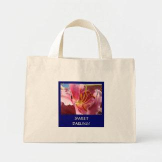SWEET DARLING! Valentine's Day gift Tote Bag Lily