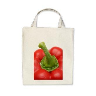 Sweet pepper canvas bags