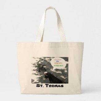 Talking Iguanas Canvas Bags