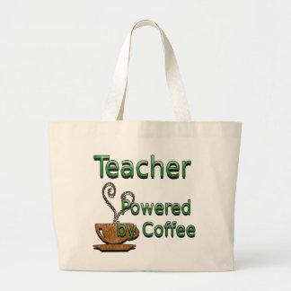 Teacher Powered by Coffee Bags