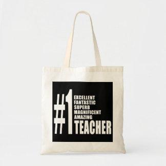 Teachers Birthdays Gifts : Number One Teacher Bag