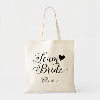 Team Bride Personalized Tote Bag