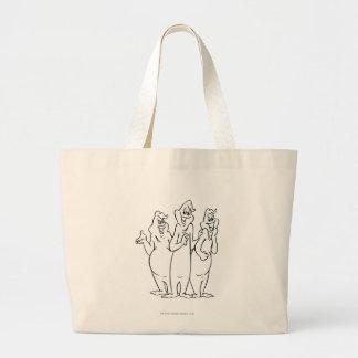 The Ghostly Trio 4 Canvas Bag