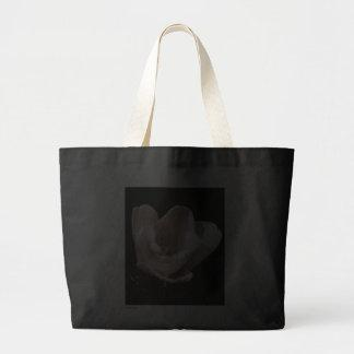 'The Tulip' Canvas Tote Bags