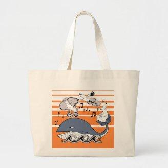 The World's greatest symphony Tote Bags