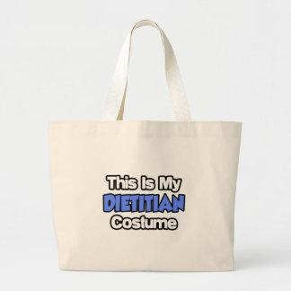 This Is My Dietitian Costume Tote Bags