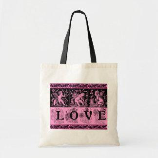 Three Cupids with Bow and Arrows Love Design Bag