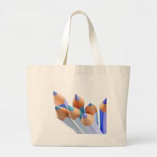 Time for creativity. large tote bag