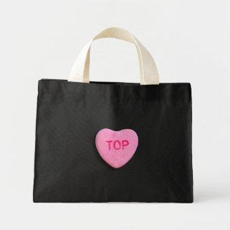Top Candy Heart Canvas Bags