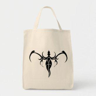 Tribal Elephant Tattoo by Flowstone Graphics Tote Bag