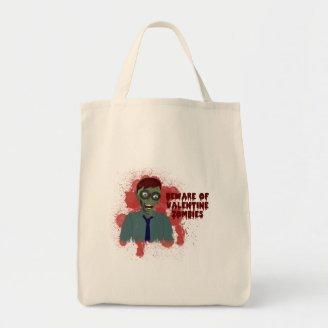 Valentine Zombies Tote Bag