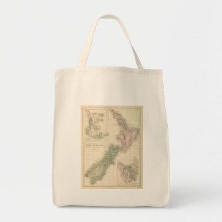 Vintage Map of New Zealand (1854) Tote Bag