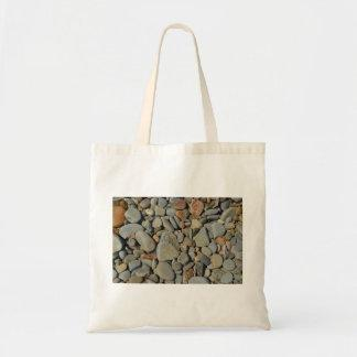 Water bottle pebble cover tote bag