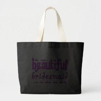 Weddings Party Favors Thanks Beautiful Bridesmaid Bags