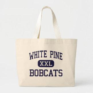 White Pine - Bobcats - High School - Ely Nevada Bags