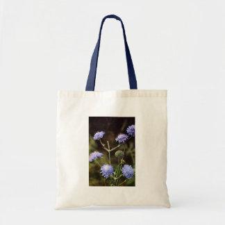 Wildflower: Field Scabious Tote Bags
