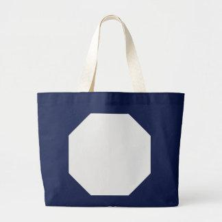 Winter Whites Background. Chic Fashion Color Trend Tote Bags