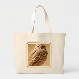 Wise Owl Canvas Bag
