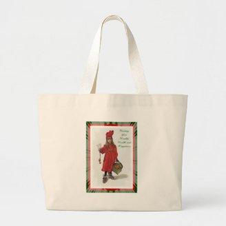 Wishing You Health, Wealth and Happiness Tote Bags