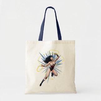 Wonder Woman & Lasso of Truth Budget Tote Bag