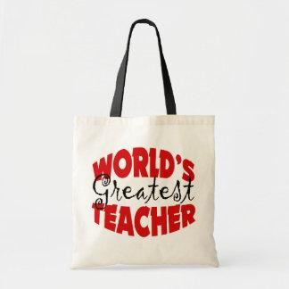 World's Greatest Teacher Bags