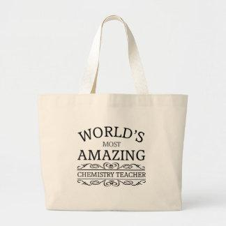 World's most amazing chemistry teacher tote bag