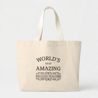 World's most amazing english teacher bags