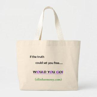 Would you go? Tote Bag