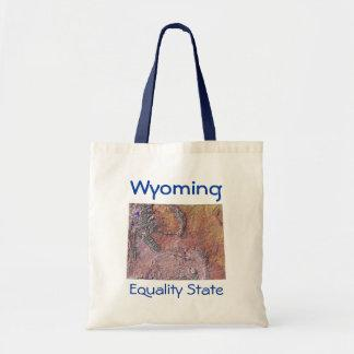 Wyoming Map Bag