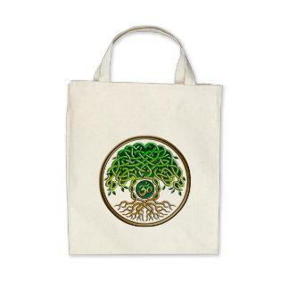 Yoga Tree of Life Canvas Bag
