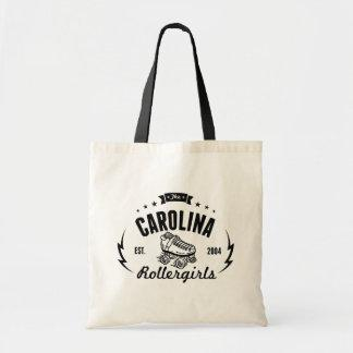 Carolina Rollergirls tote bag