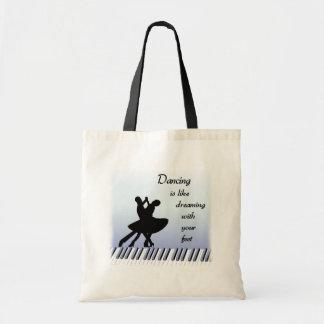 Dancing totebag tote bag
