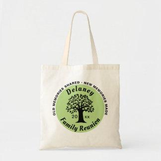 Family Reunion Memories Keepsake Souvenir Gift Tote Bag